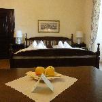 Room Sandizell - bed area