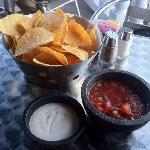 Chips and salsa! Good stuff.