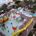 The kiddie activity pool