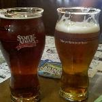 Awesome Sam Adams glass at Doyles!