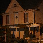Parrottsville Inn at night