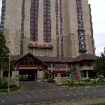 Exterior view of the DOUBLETREE FALLSVIEW RESORT