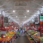 Market's center aisle