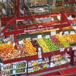 Old City Market Fruit stand