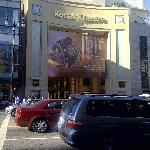 Located behind the Kodak Theatre (not seen)