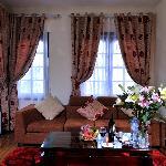 Sitting area in Junior Suite