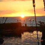 Sunset at Humu's