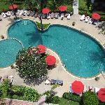 Pool taken from tower