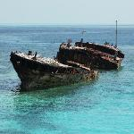 The famous wreck