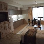 Room and kitchenette