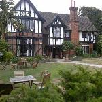 Tudor Grange in summer