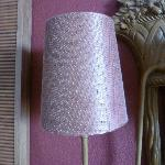 faded lampshades