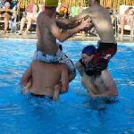 I giochi in piscina