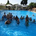 Animazione e divertimento in piscina