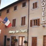 Close up of Albergo del Chianti's entrance