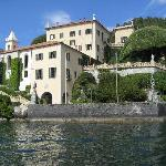 view of Villa from water taxi