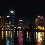 サイゴン川の夜景