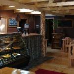 nueva cafeteria del hostal - new coffee shop