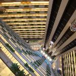 Hotel atrium- gorgeous