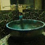 Hand-made sink and tiles