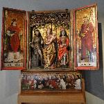 Medieval triptych