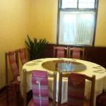 One of the private dining room