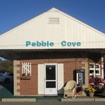 Pebble cove.
