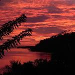 tramonto dal terrazzino