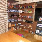 our store with organic products,