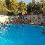 + piscina