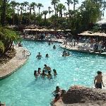 main pool-alot a kids though