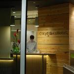 Front Desk at CityFlats Hotel