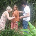 On Location in Finca Rosa Grounds