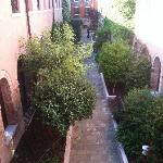 Courtyard for guests to enjoy