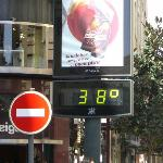 Cordoba gets warm, even in mid September!