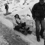 ice sledging @ Natha top