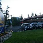 L'hotel est face au lac de Dillon