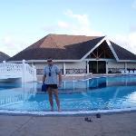 Una de las piscinas tranquilas.