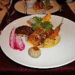 coeur de saumon au lard