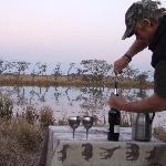 Wine by the water hole