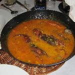 Exquisito arroz con bogavante