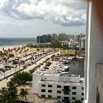 View of beach AND marina