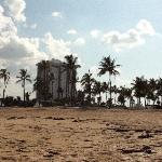 hotel from beach!