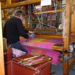 Handweaver in Avoca