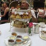 Tea time at Harrods.