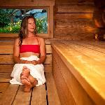 Friendly sauna