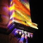 capitel con efecto vidriera (Iglesia Sto.Estevo)