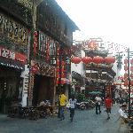 Huangshan cafes