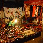 A typical night market stall