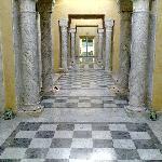 couloir d'accès à la thalasso